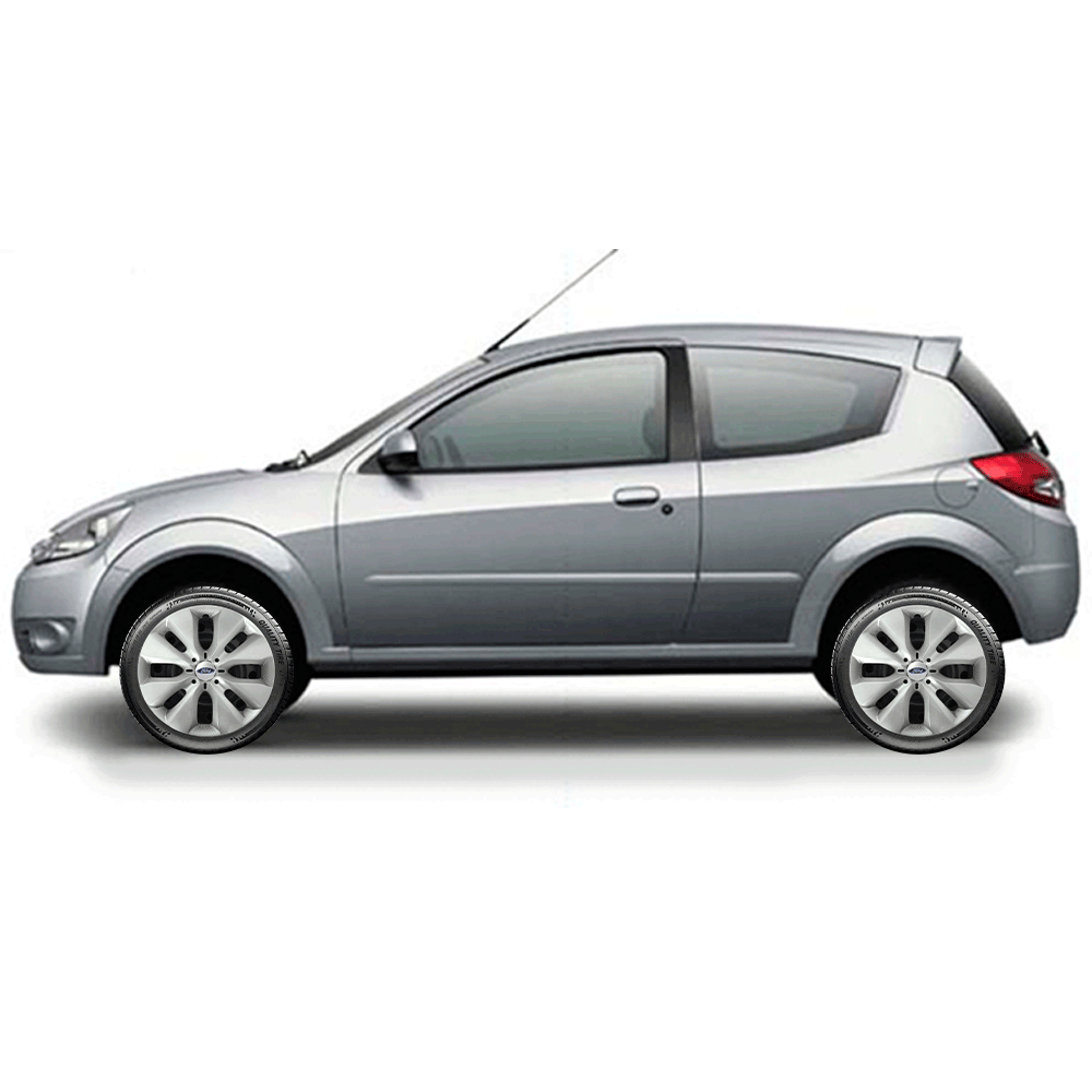 Calota Jogo 4Pçs Ford Novo Ká Fiesta Focus Aro 15 G130J