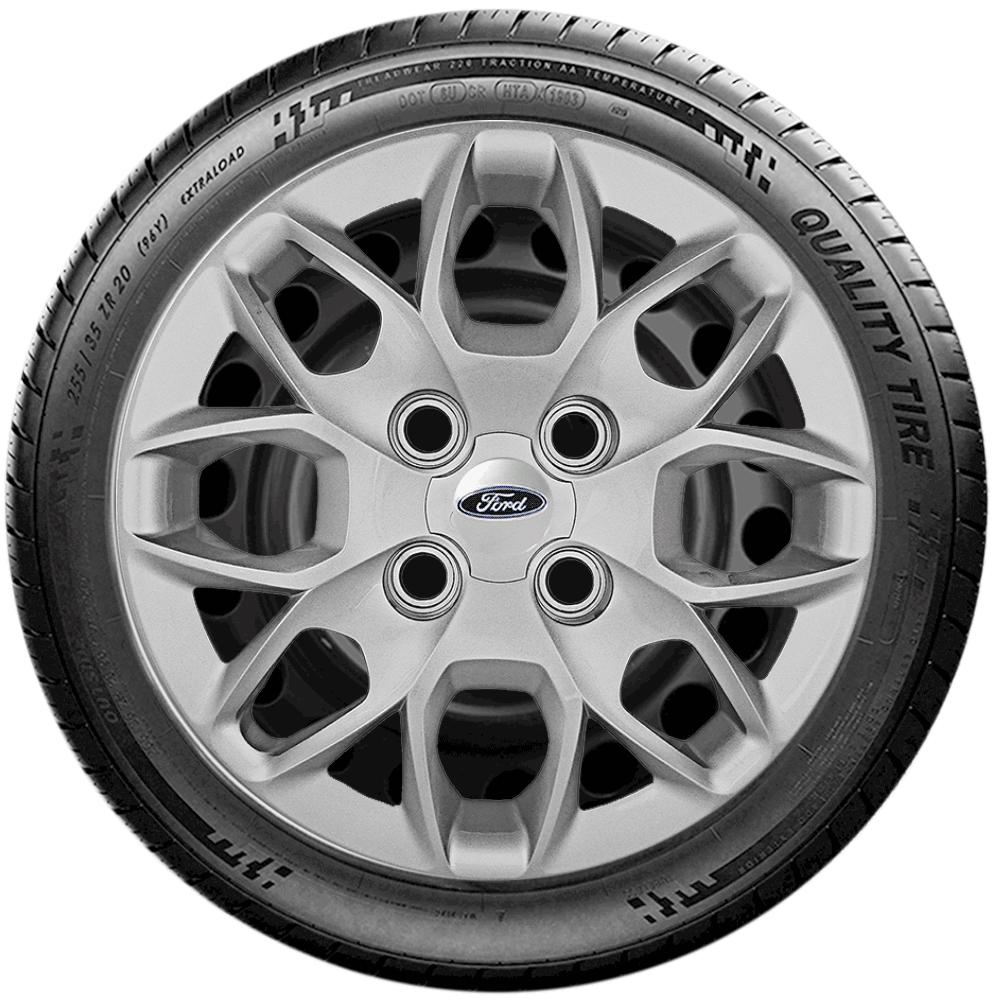 Calota Jogo 4Pçs Ford Novo Ka Sedan 2016 20147 2018 2019 2020 Aro 14 G342J