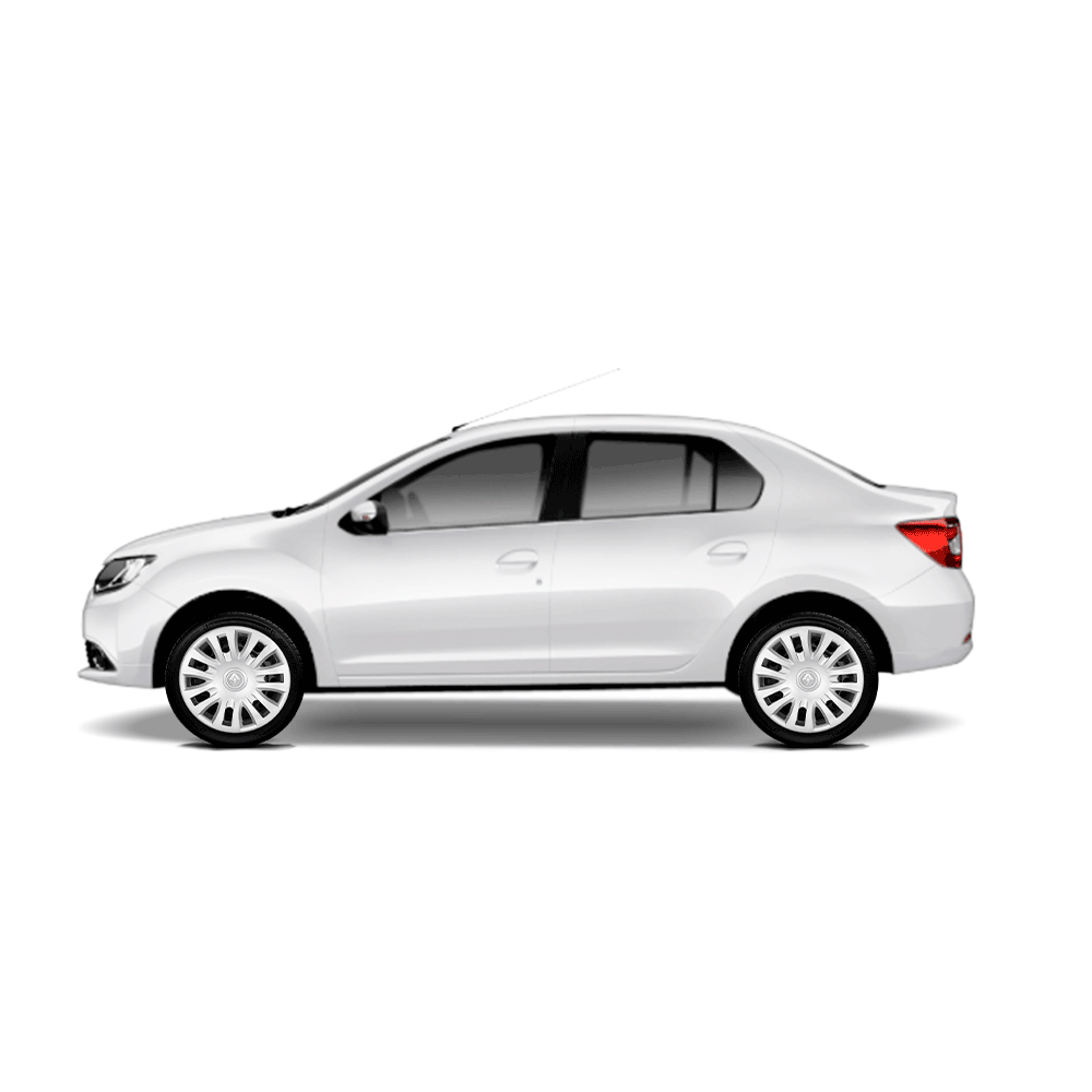 Calota Jogo 4Pçs Renault Clio Sandero Logan Aro 14 G083J
