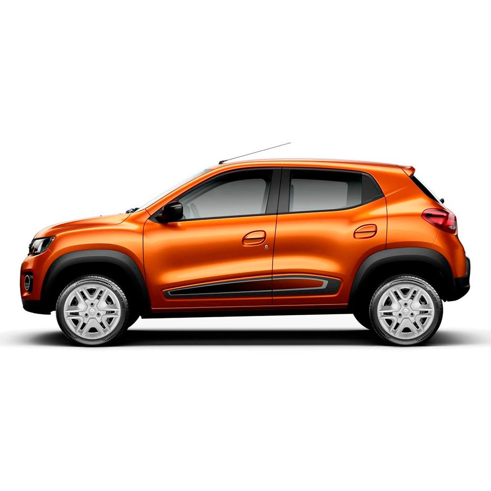 Calota Jogo 4Pçs Renault Kwid 2018 2019 Aro 14 G877J