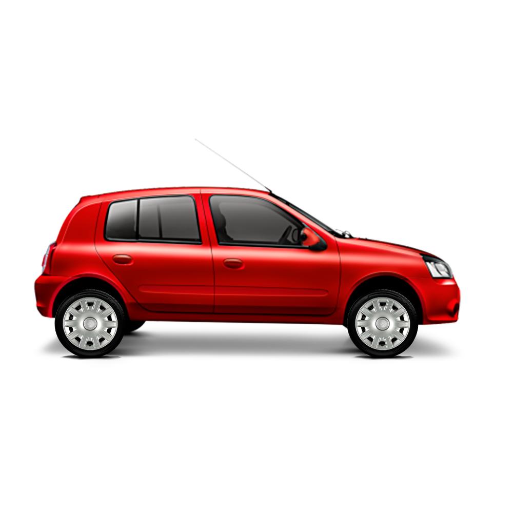 Calota Jogo 4Pçs Renault Logan Sandero Clio Aro 15 G063J