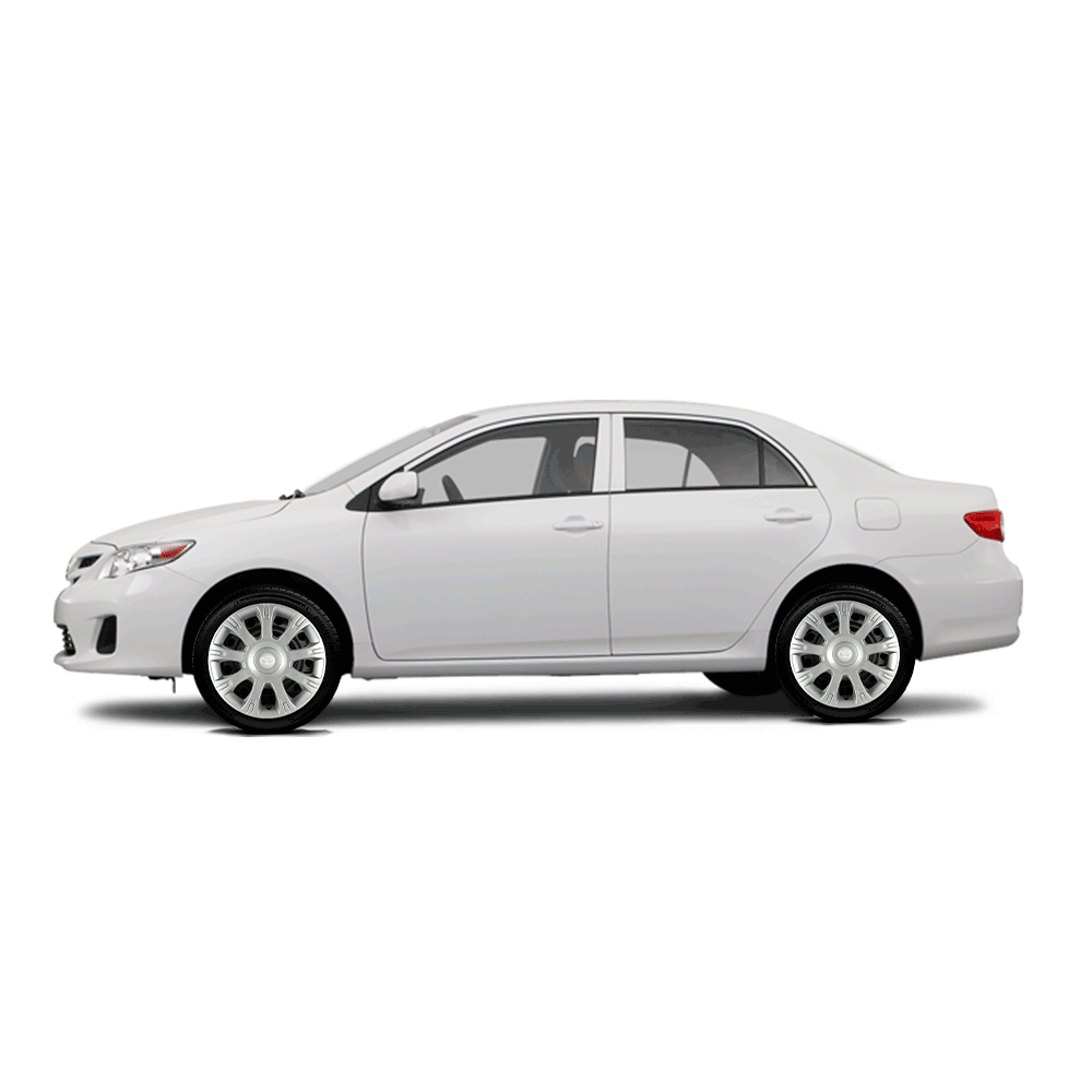 Calota Jogo 4Pçs Toyota Etios Corolla 2010 2019 Aro 14 G086J