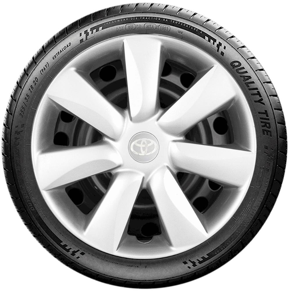 Calota Jogo 4Pçs Toyota Etios Corolla 2010 2019 Aro 14 G450J