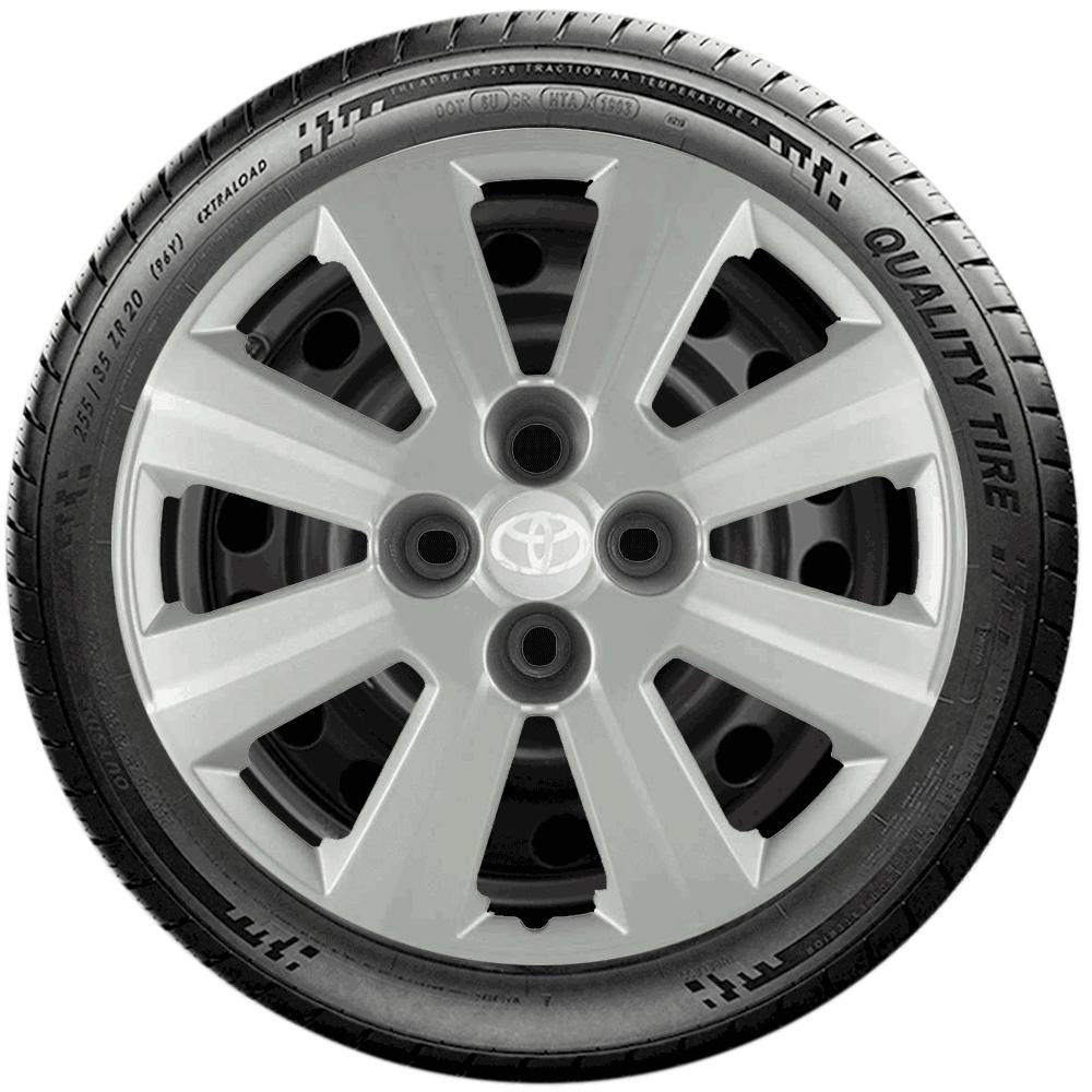 Calota Jogo 4Pçs Toyota Etios Corolla Aro 15 G030J