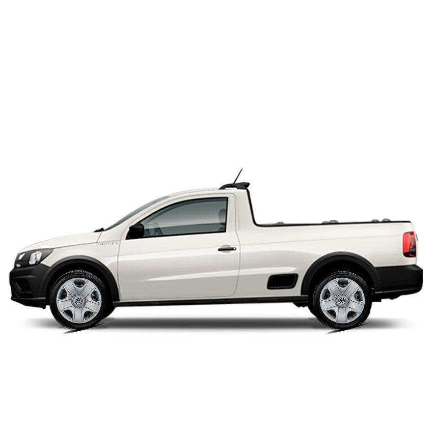 Calota Jogo 4Pçs Volkswagen Gol Saveiro Fox Parati Voyage Aro 15 G144J