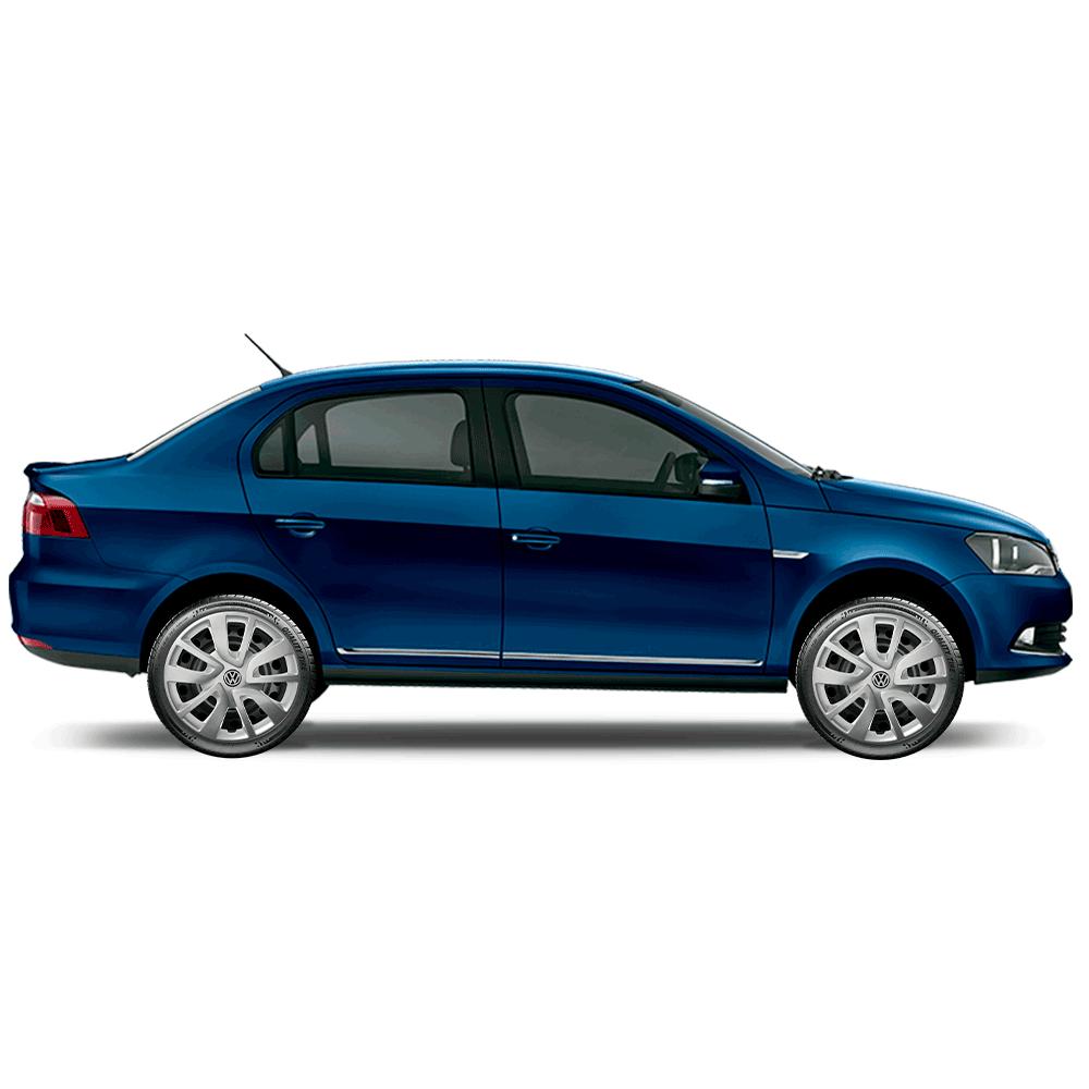 Calota Jogo 4Pçs Volkswagen Gol Saveiro Parati Voyage Aro 15 G869J