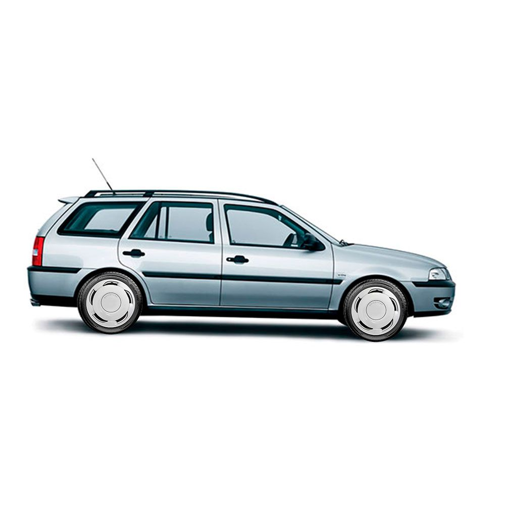 Calota Jogo 4Pçs Volkswagen Gol Voyage Gol Saveiro Aro 14 G100J