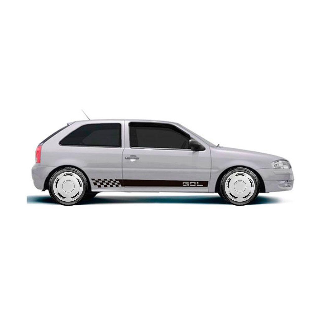 Calota Jogo 4Pçs Volkswagen Gol Voyage Parati Aro 14 G100J