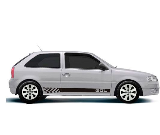 Calota Jogo 4Pçs Volkswagen Gol Voyage Saveiro G1 G2 G3 Aro 14 G109J