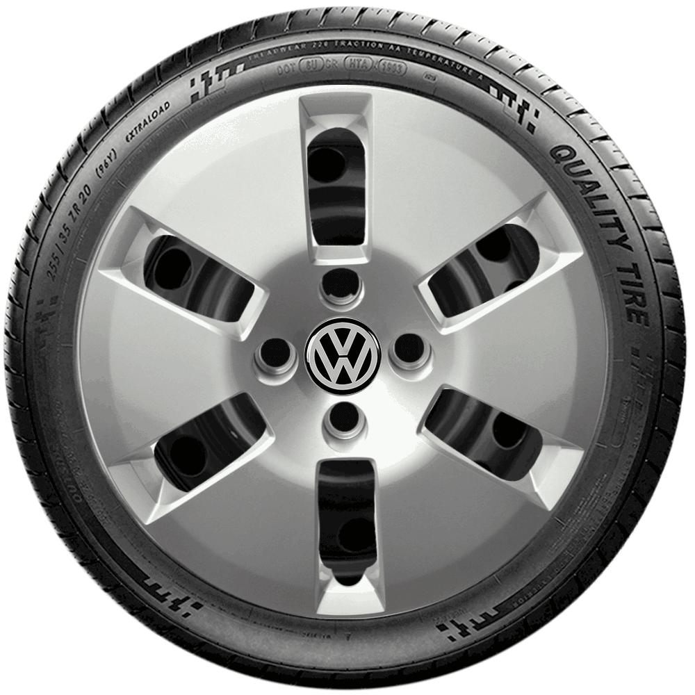 Calota Jogo 4Pçs Volkswagen Up! Gol G6 G7 Aro 14 G188J