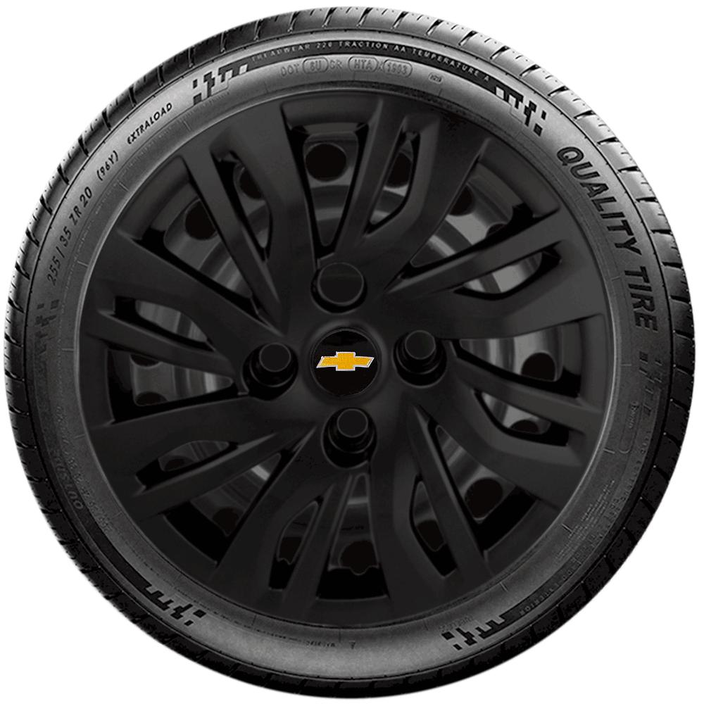 Calota Aro 14 Chevrolet Onix Novo Prisma 2014 A 2019 G344Pf