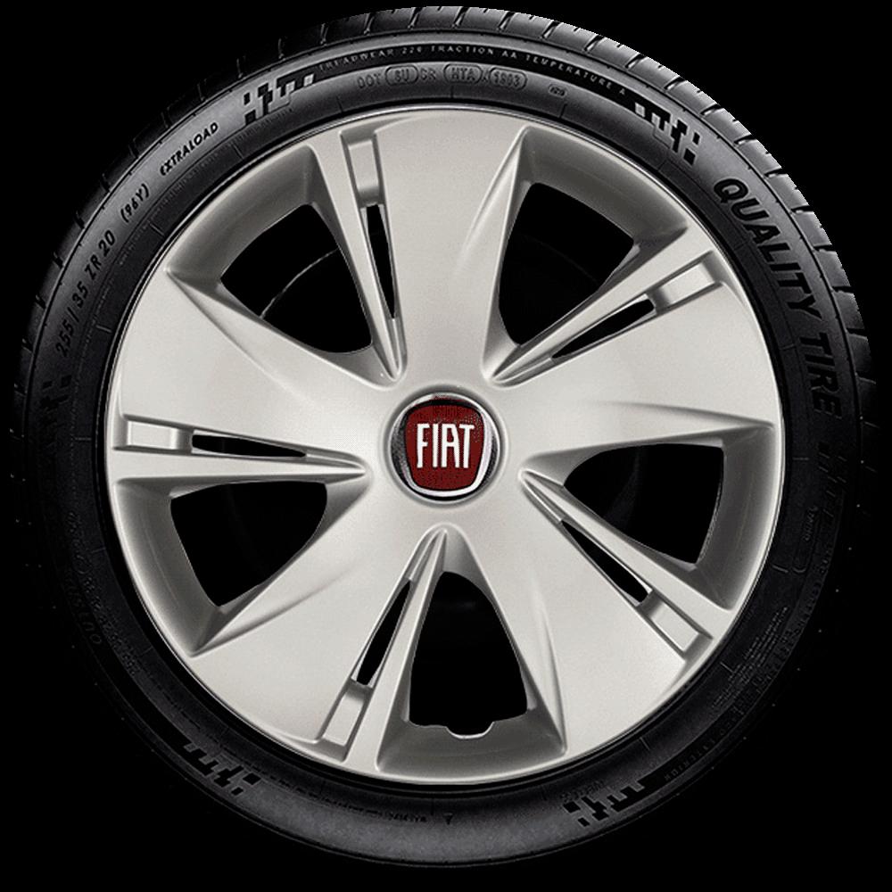 Calota Mod. Original Fiat Aro 14 Palio Siena Uno Fire Santo Andre - Abc - Sp G451  - Rei das Calotas