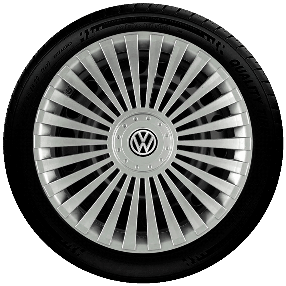 Calota Aro 14 Volkswagen Gol Saveiro Voyage Parati G068