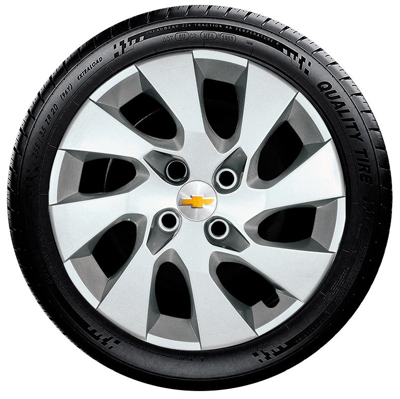 Calota Aro 15 Chevrolet Onix Prisma Agile Cobalt G195  - Rei das Calotas