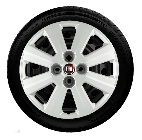 Calota Aro 15 Fiat Palio Grand Siena Punto Idea G030