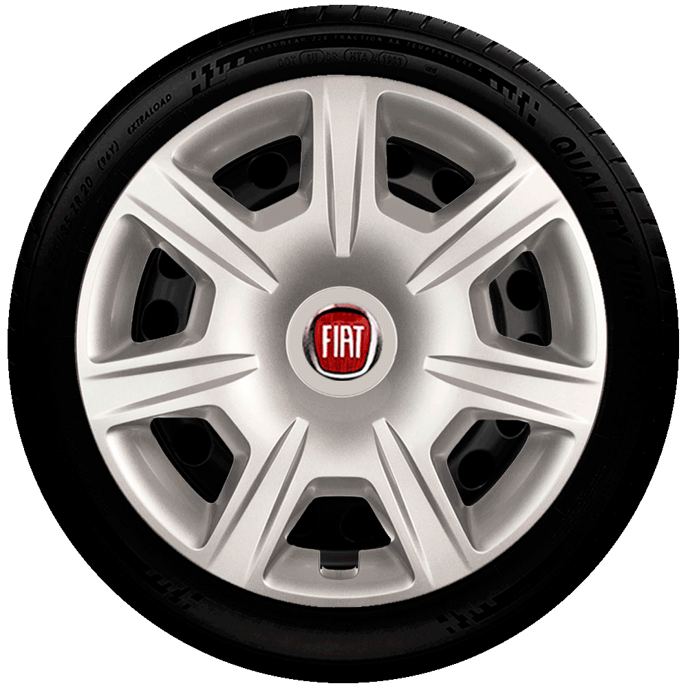 Calota Aro 15 Fiat Punto Idea Grand Siena Palio Uno Way G876