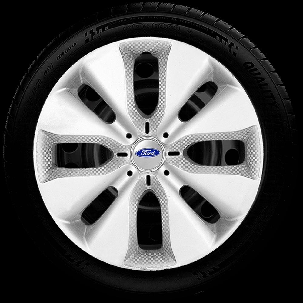 Calota Aro 15 Ford Focus Fiesta Ká Ecosport G130