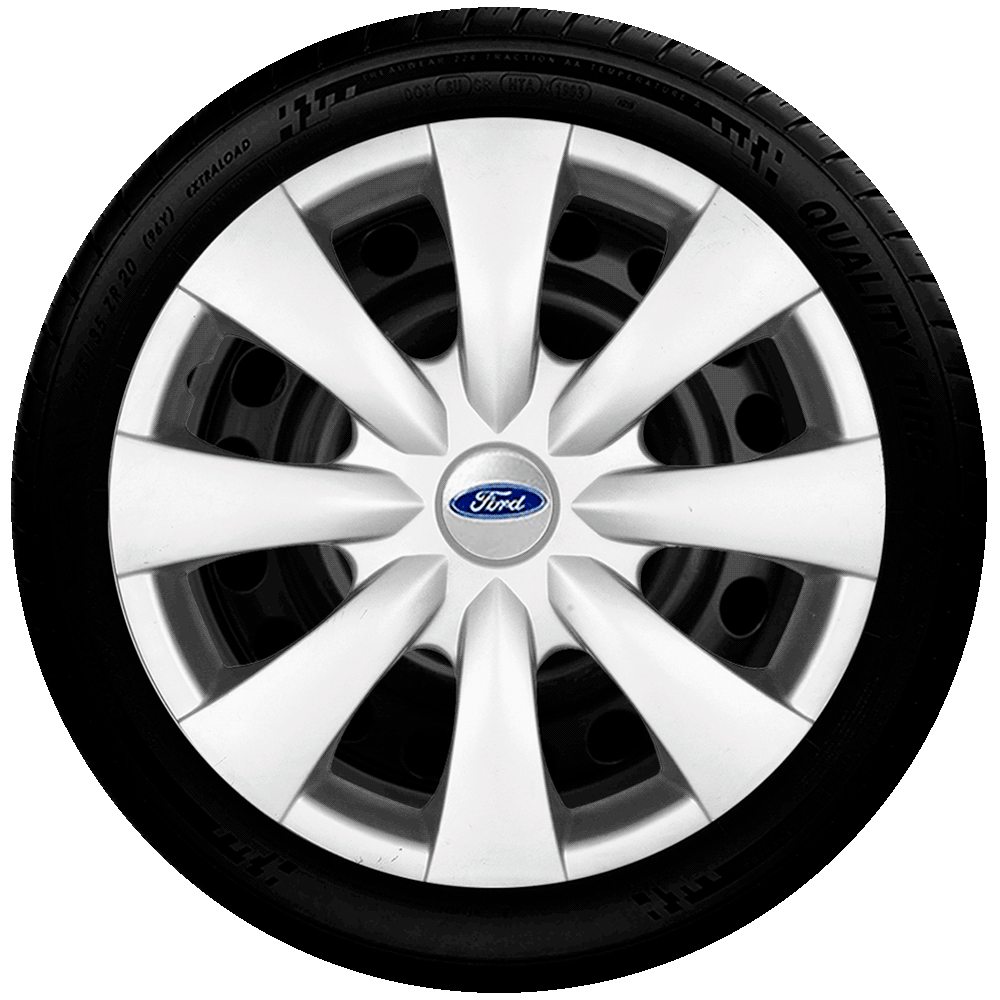 Calota Aro 15 Ford New Ka Fiesta Focus Fussion Ecosport G460
