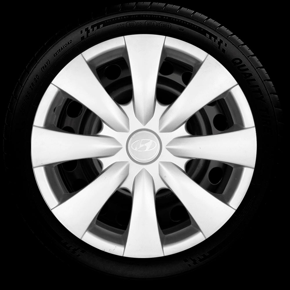 Calota Aro 15 Hyundai Novo Hb20 Hb20S 2016 2017 G460