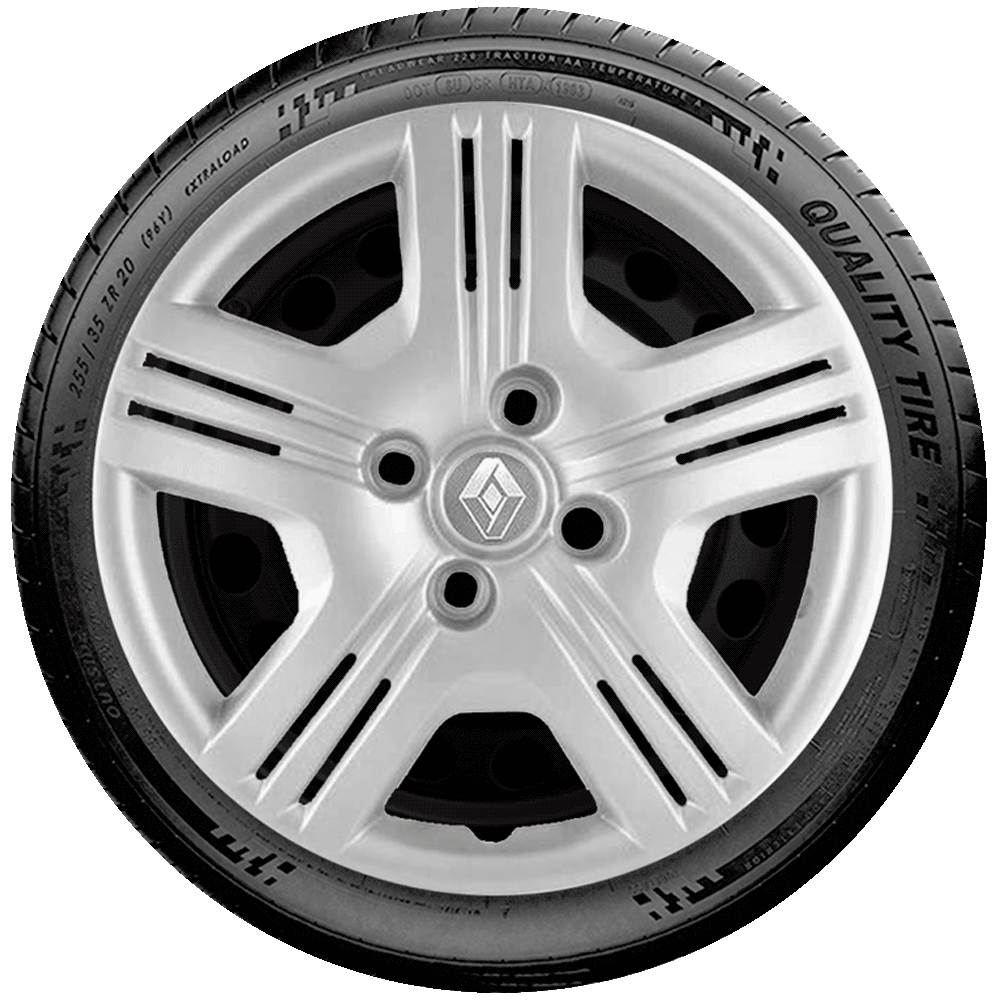 Calota Aro 15 Renault Clio Sandero Logan G089