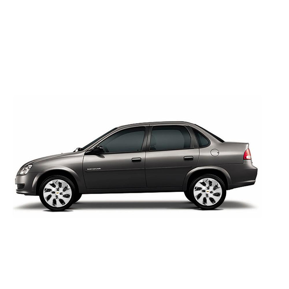 Calota Cromada Aro 14 Chevrolet Onix Prisma G133Chr