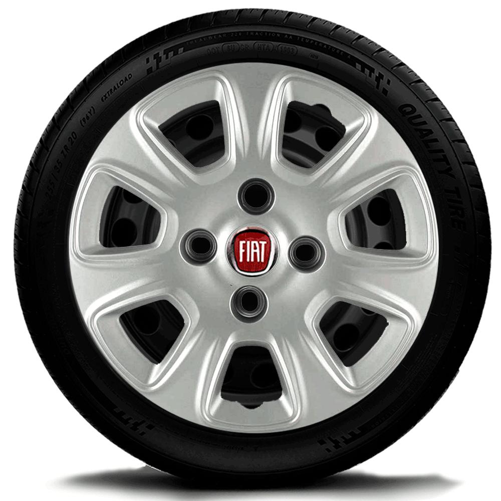 Calota Aro 13 Fiat Palio Siena Uno Fire G076