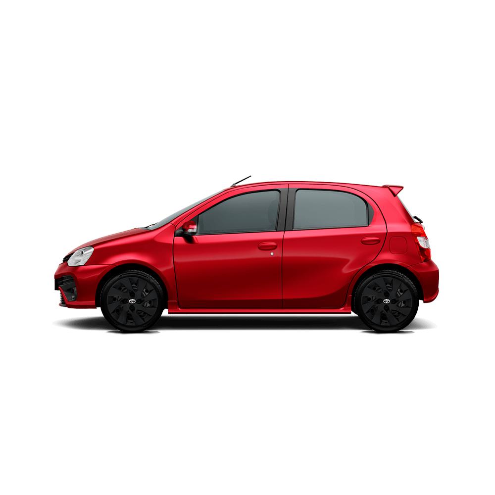Calota Preto Fosco Aro 15 Toyota Etios 2016 2017 2020 G195Pf