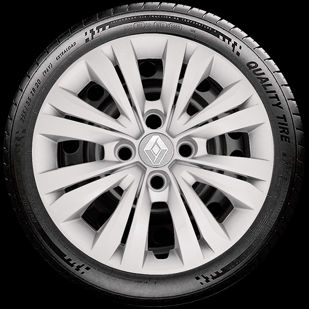 Calota Aro 15 Renault Novo Logan Clio Novo Sandero 2017 2018 2019 2020 G246