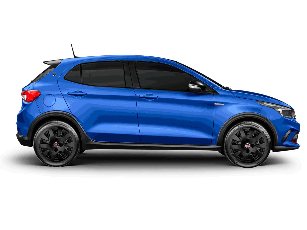 Calota Preto Fosco Jogo 4Pçs Fiat Argo 2017 2018 2019 2020 Aro 14 G343Pfj