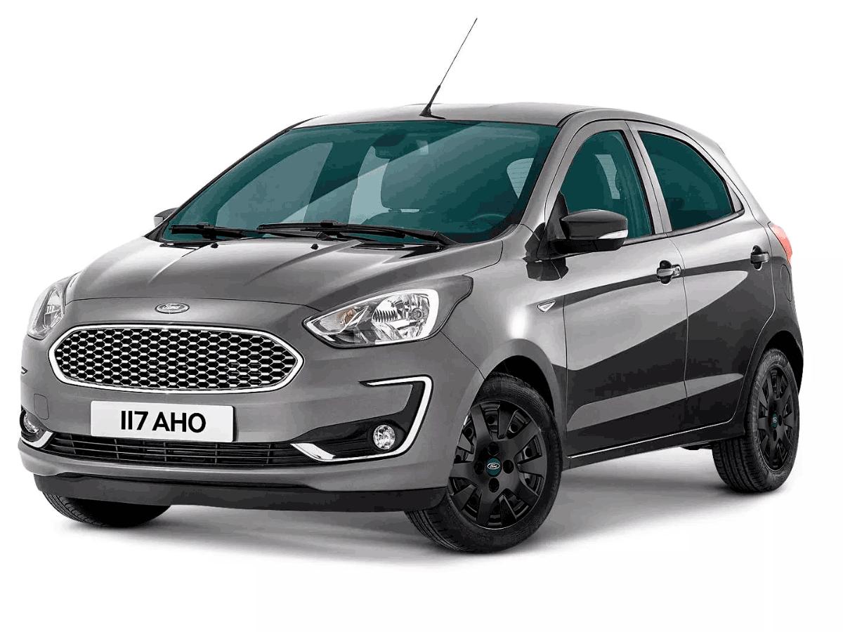 Calota Preto Fosco Jogo 4Pçs Ford Novo Ka 2018 2019 2020 Aro 14 G343Pfj