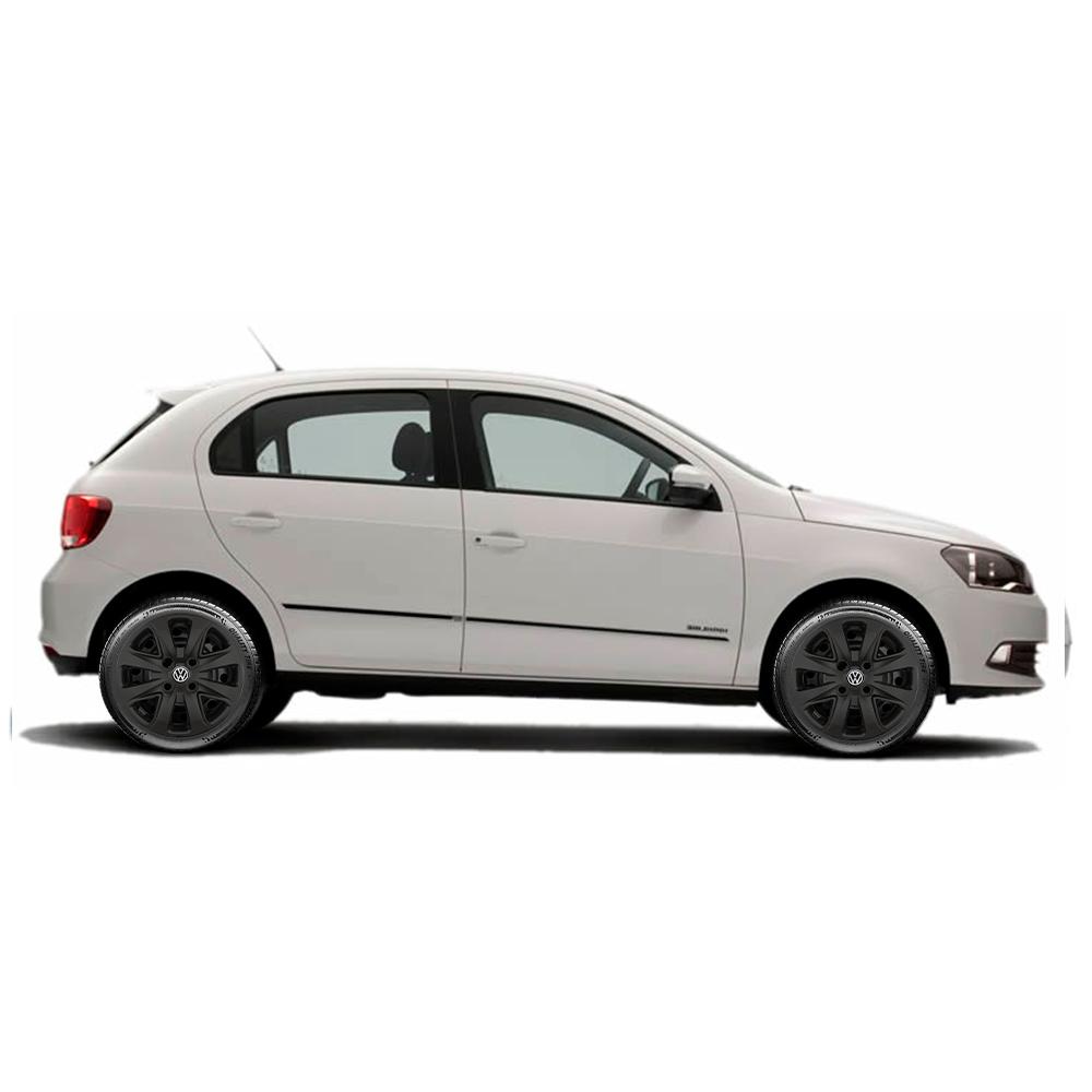 Calota Preto Fosco Aro 14 Volkswagen Up 2016 2017 2018 G340Pf (Inativo)