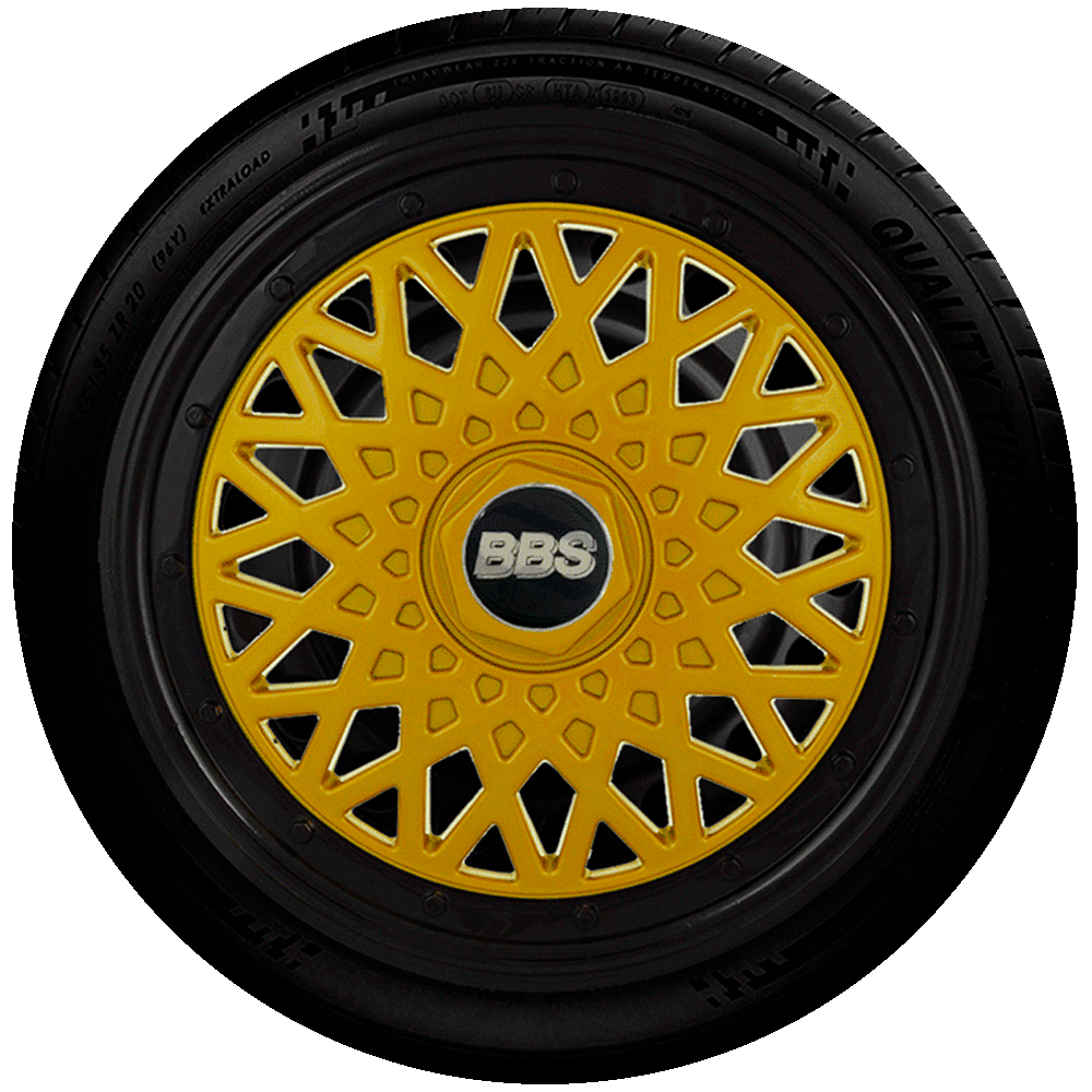Calota Réplica De Roda Bbs Universal Aro 14 G601Dpb