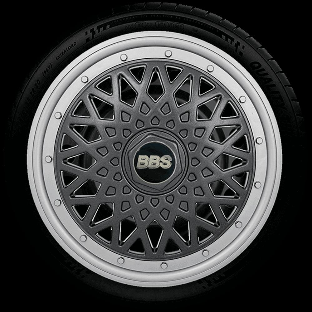 Calota Réplica De Roda Bbs Universal Aro 14 G601Ptg