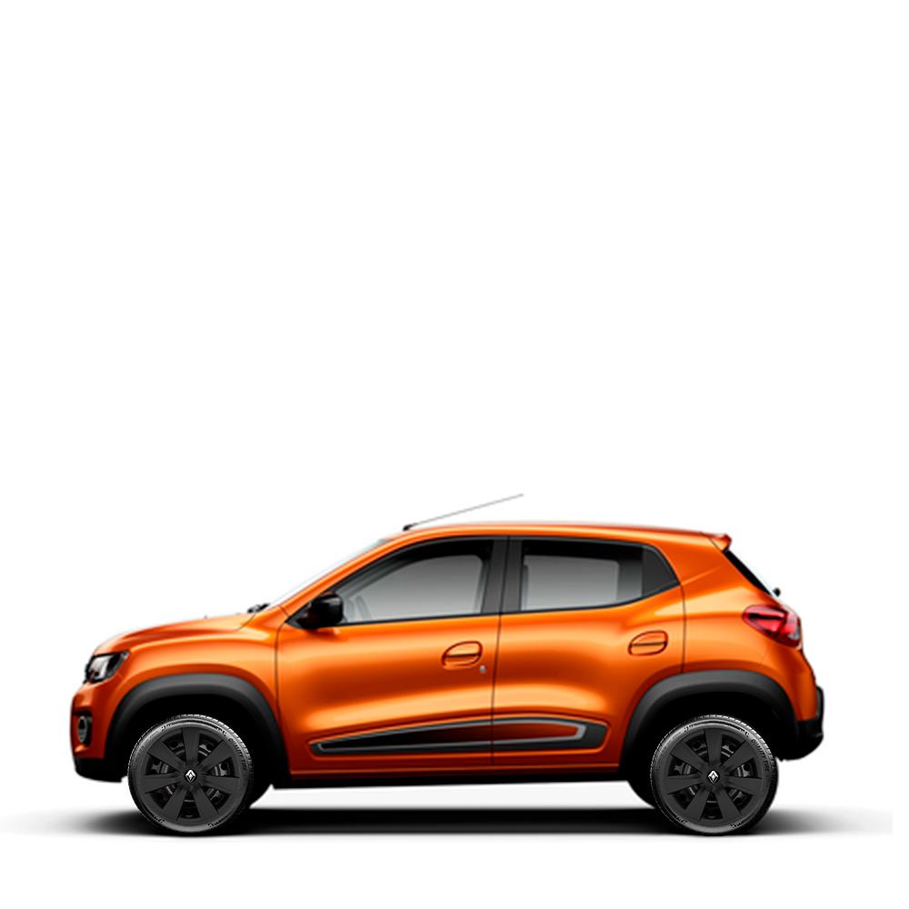 Calota Unitaria Preta Fosco Renault Kwid Zen Outsider 2019 2020 G461pfu