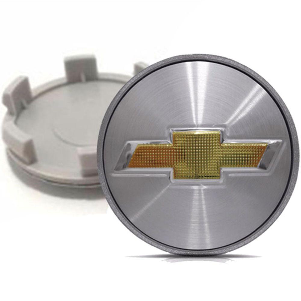 Calotinha centro de Roda Chevrolet astra Emblema Escovado de 51mm