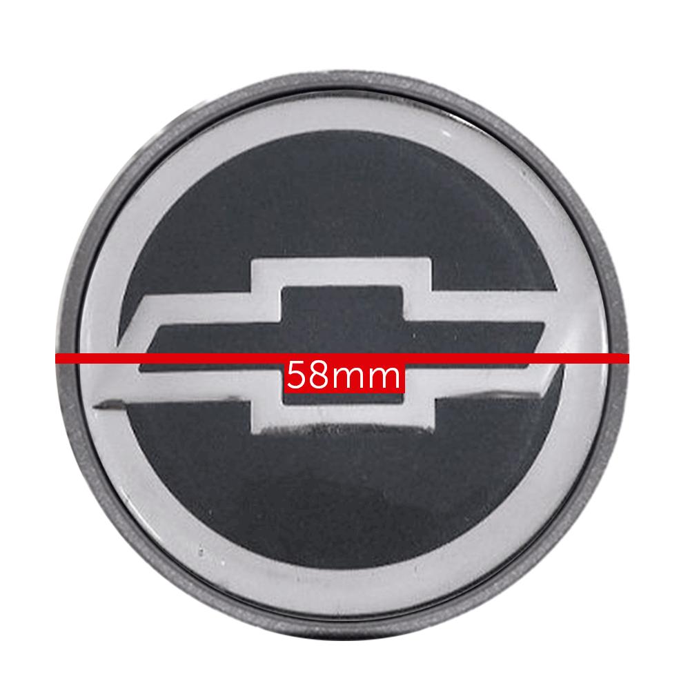 Calotinha centro de Roda Chevrolet astra logo Cinza 58mm