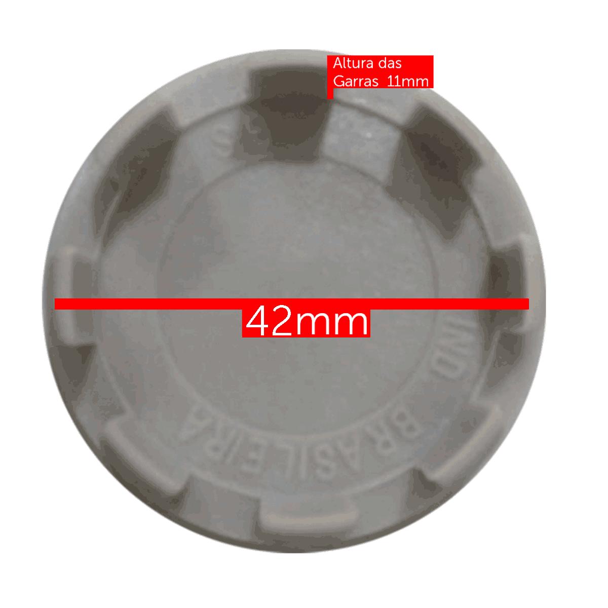 Calotinha centro de Roda volkswagen Gol 51mm