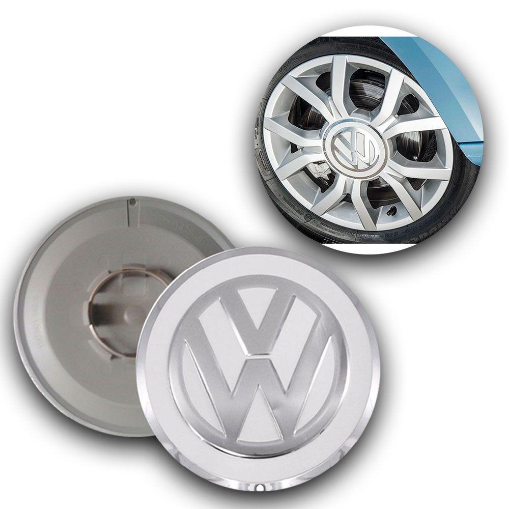Calota Centro Miolo De Roda Volkswagen UP branco