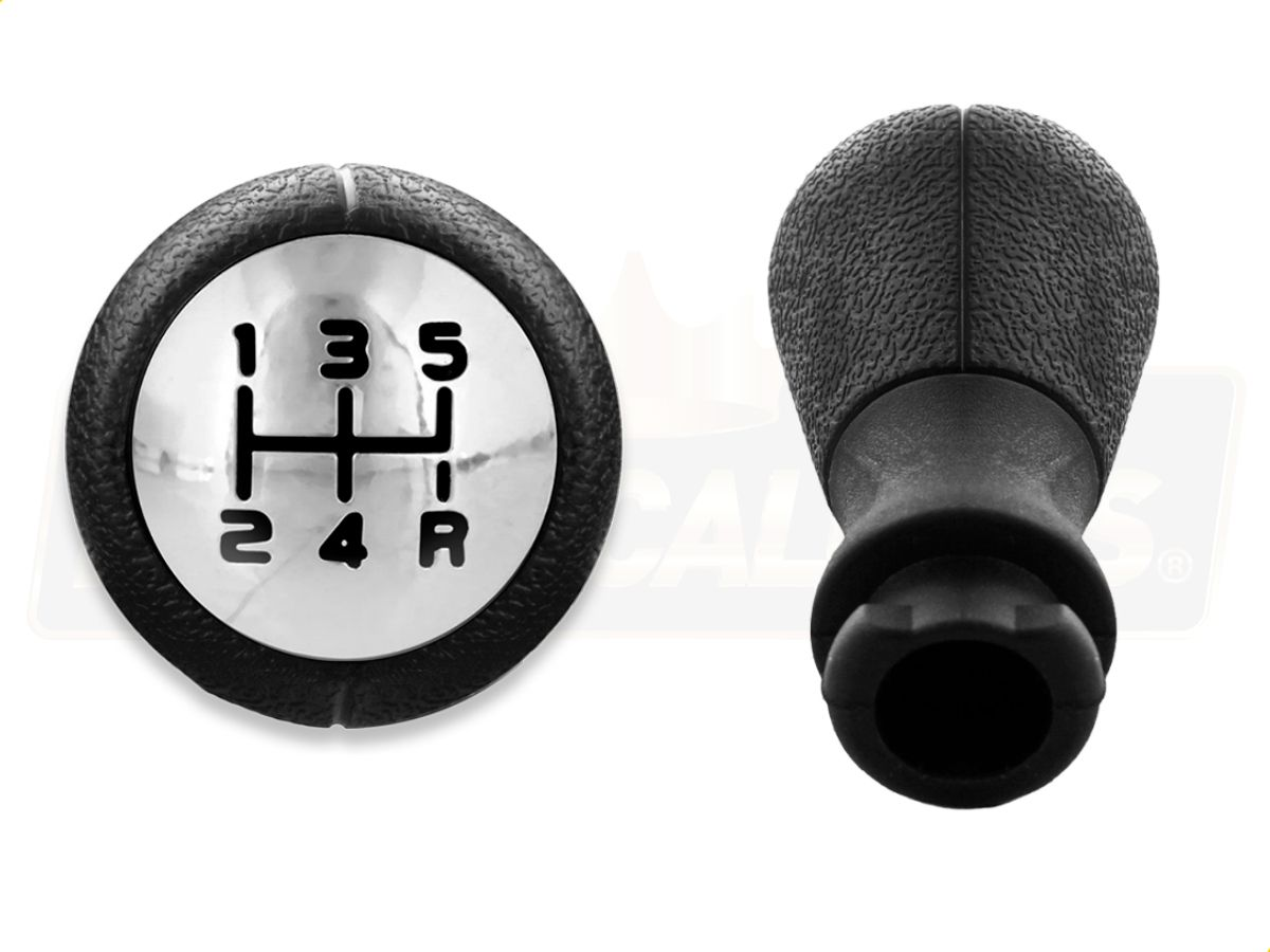 Coifa preta + Manopla Bola Câmbio cromada para Citroen C3