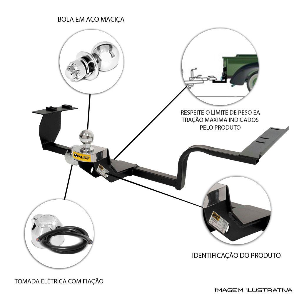 Engate Reboque Citroen C3 Picasso 2012 a 2017 Santo Andre - ABC - SP