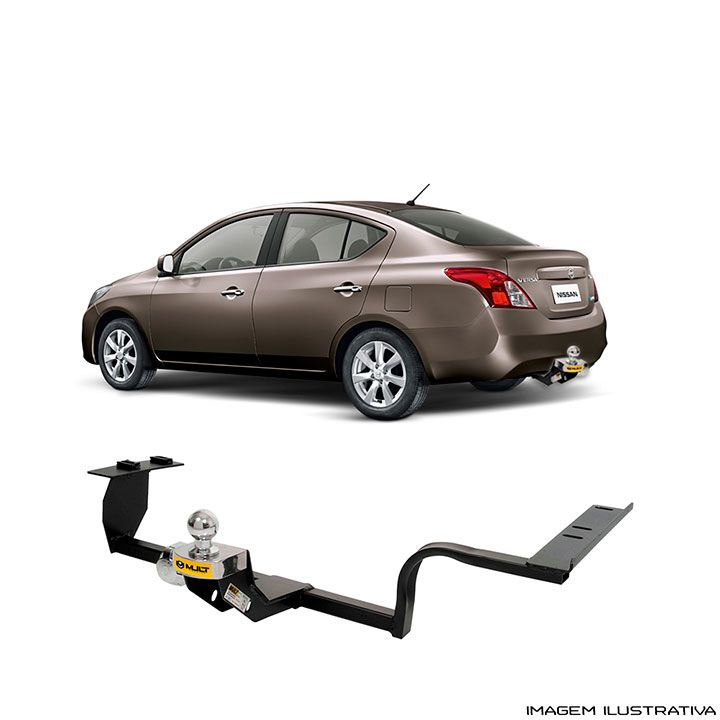 Engate Reboque Nissan Versa 2011 a 2017  Santo Andre - ABC - SP