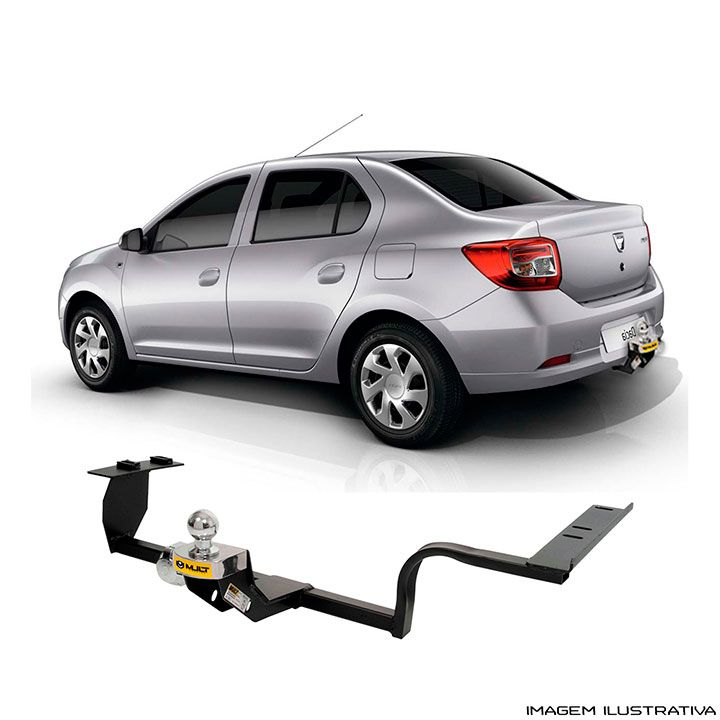 Engate Reboque Renault  Novo Logan 2014 a 2018 Santo Andre - ABC - SP