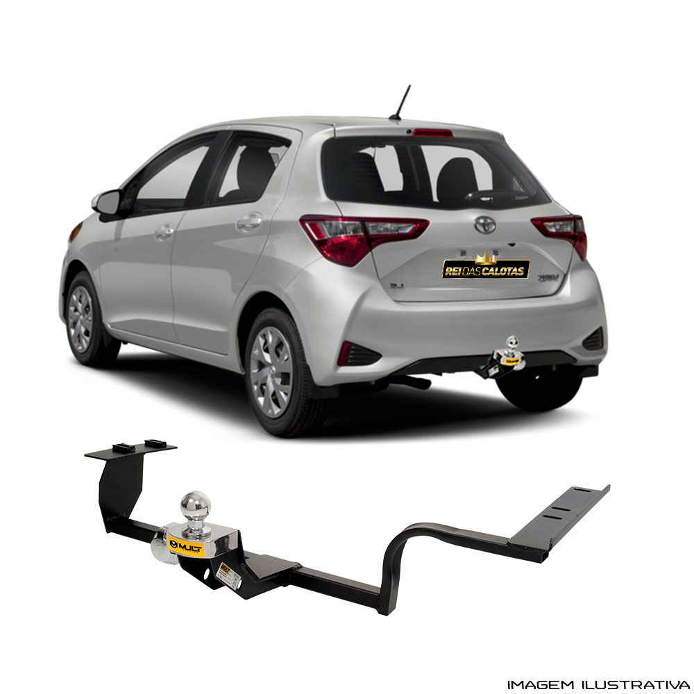 Engate Reboque Toyota toyota Yaris 2018 Santo Andre - ABC - SP