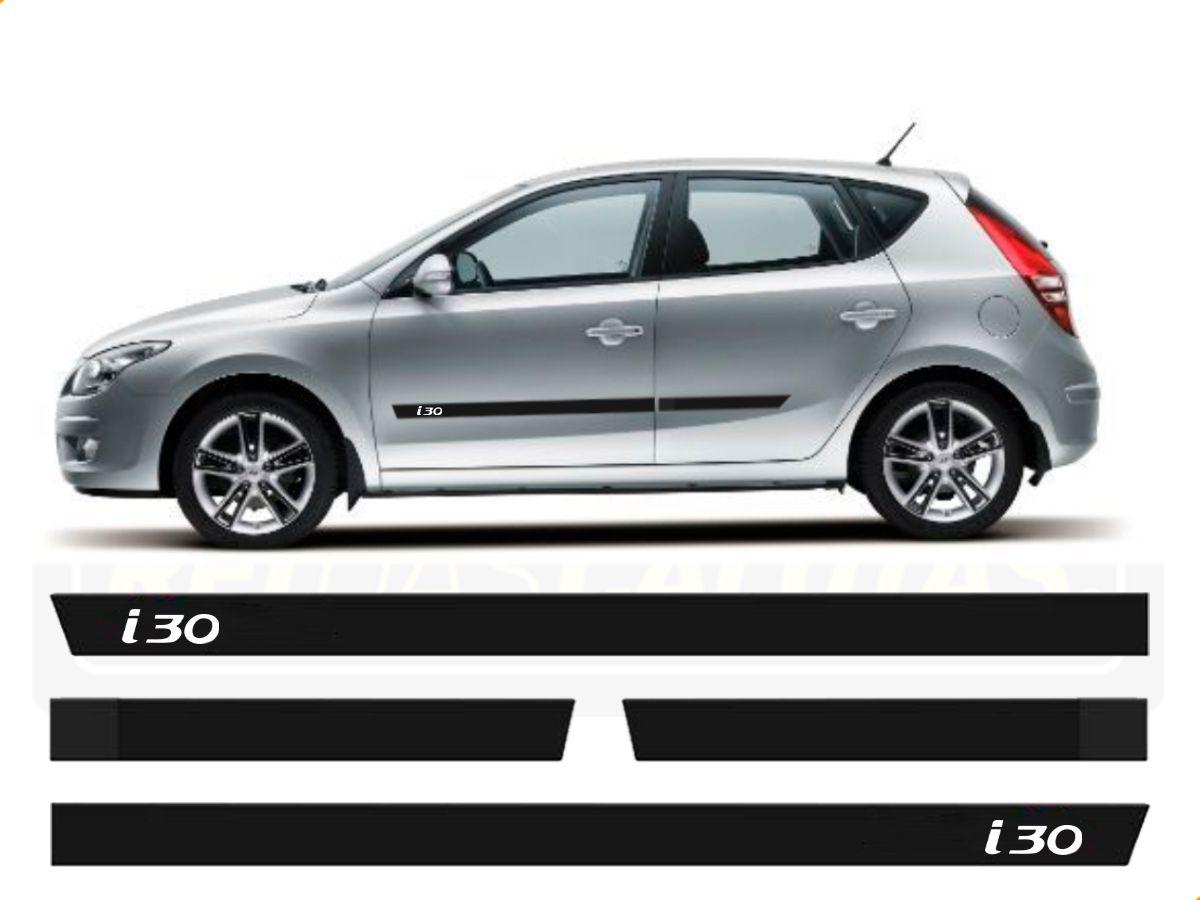 Friso Borrachão Lateral Hyundai I30 1º Geração