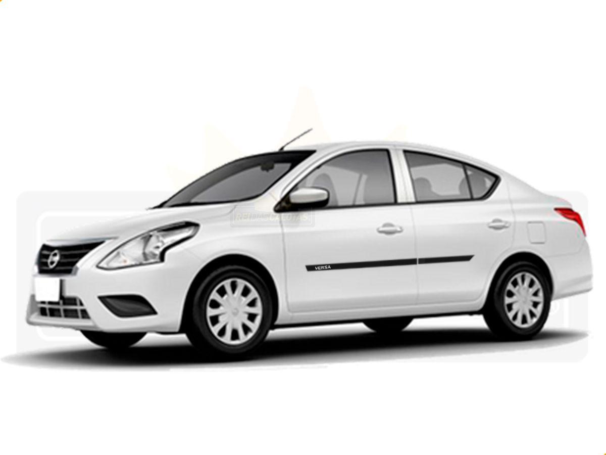Friso Borrachão Lateral Nissan Versa 2012 a 2020