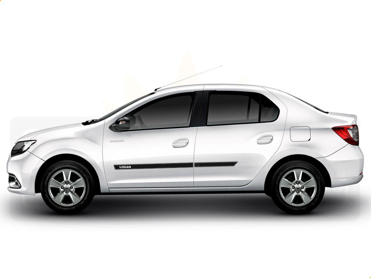 Friso Borrachão Lateral Renault Novo Logan