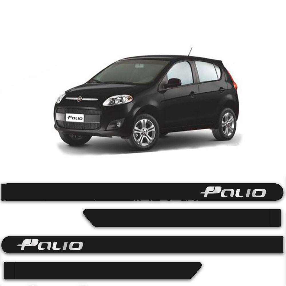 FRISO FIAT NOVO PALIO PRETO VULCANO C/4 PÇS - FT6245PTOV