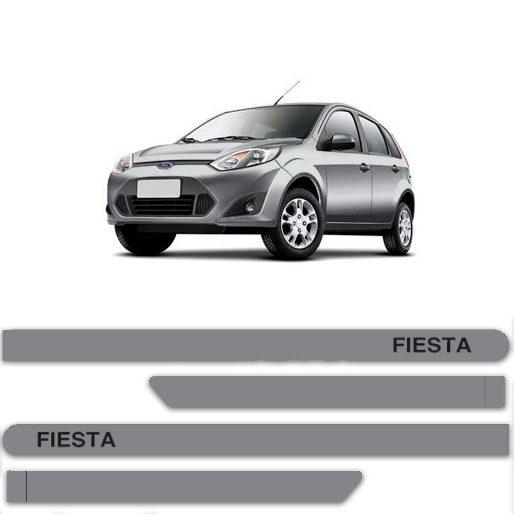 FRISO FORD FIESTA ROCAM PRATA DUBLIN C/4 PÇS - FD6600PTAD