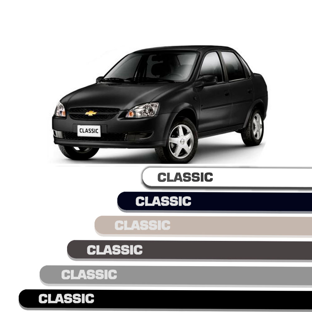 Friso Lateral Personalizado Para Chevrolet Corsa Classic