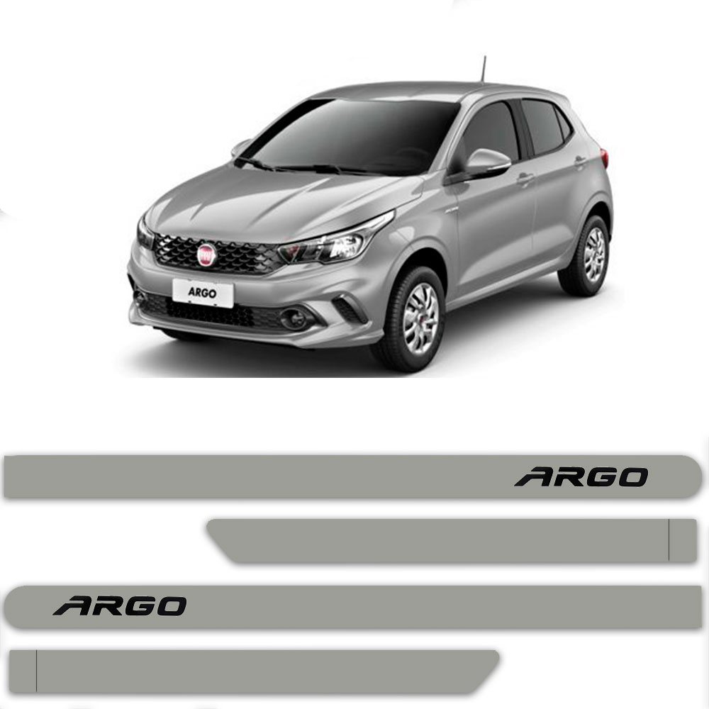 Friso Lateral Personalizado Para Fiat Argo